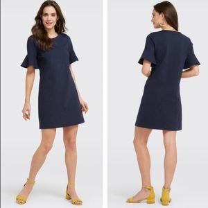 NWT Draper James bell sleeve button shoulder dress